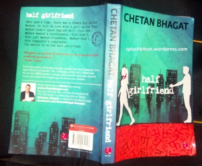 half girlfriend - chetan bhagat